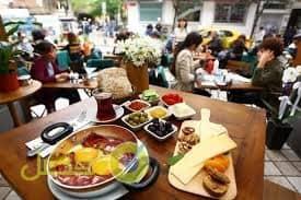 شارع الإفطار في بشيكتاش اجمل اماكن فطور في اسطنبول