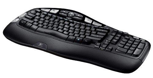 لوجيتيك Logitech K350 2.4Ghz Wireless Keyboard افضل كيبور لاسلكي وماوس
