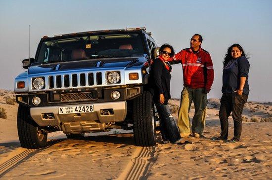 سفاري الهامر بواسطة Sand Trax  دبي