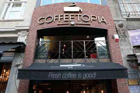 coffetopia أفضل قهوة تركية في اسطنبول