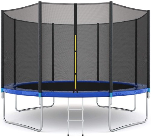 Giantex 12FT Trampoline with Safety Enclosure Net