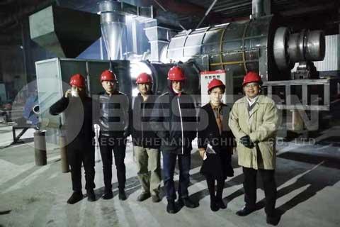 Rice Husk Charcoal Briquettes Making Machine