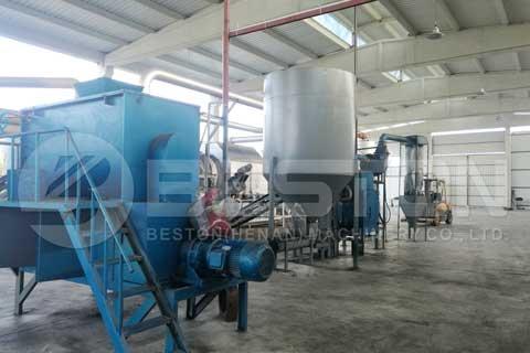 Municipal Solid Waste Carbonization Machine