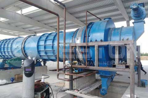 Palm Kernel Shell Charcoal Machine for Sale