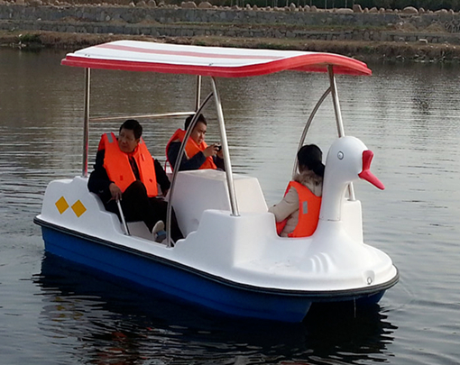 Paddle boat with 4 seater for sale