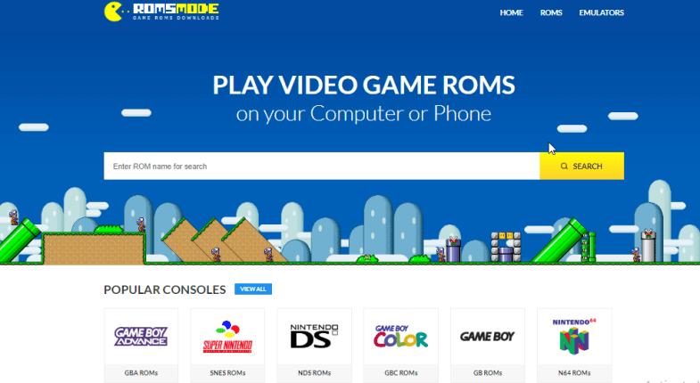 romsmode website