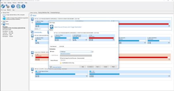 macrium free hard drive cloning software