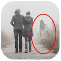 Ghost in Photo Prank