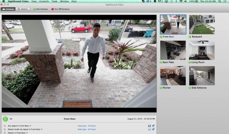 Sighthound software cam