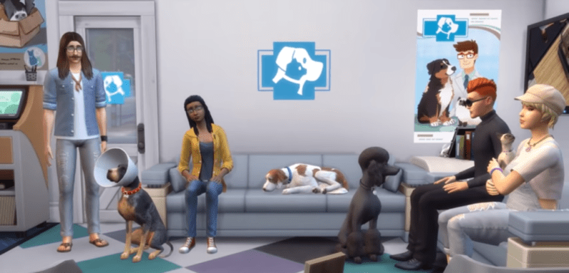 cats and dogs sims 4