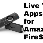amazon firestick live tv apps