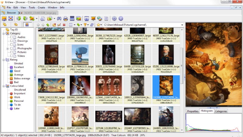 xnview image viewer for windows 10
