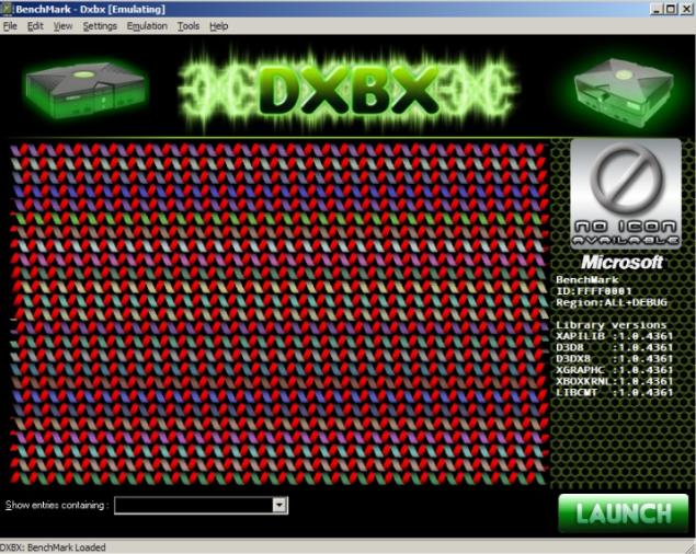 DXBX emulator for xbox