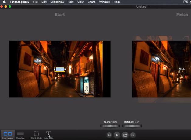 FotoMagico 5 slideshow