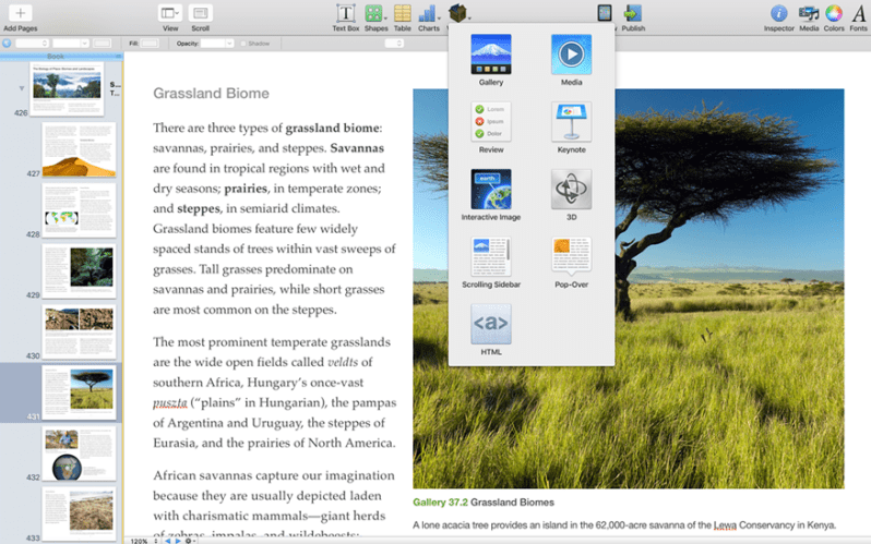ibooks author for mac