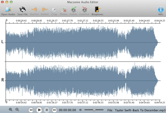 macsome mac audio editor