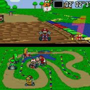 mariocart on Snes9X emultor