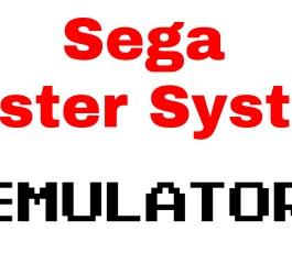sega master system emulator