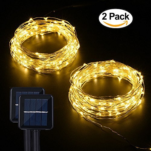 Best Rated Outdoor Solar Powered String Lights 2017 Top Product Reviews