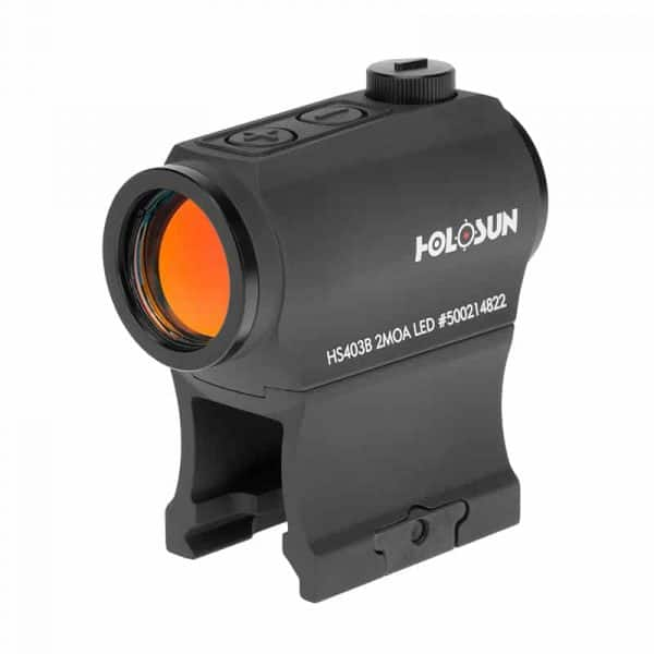 Holosun HS403B Red Dot / Circle Dot Reflex Sight With Shake Awake