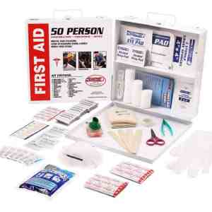 50 Person First Aid survival kits