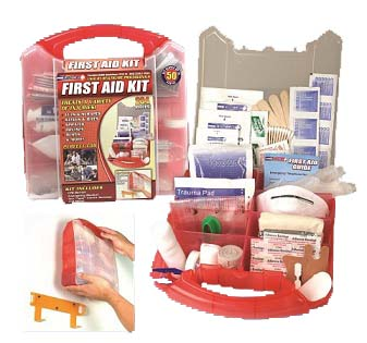 exclusive 234 Piece First Aid Kit