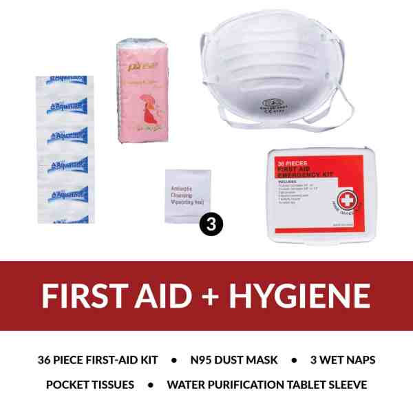 First Aid and Hygiene Supplies