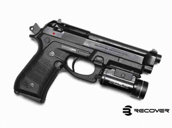 Recover Tactical - BC2 BLACK BERETTA 92/M9 GRIP AND RAIL SYSTEM