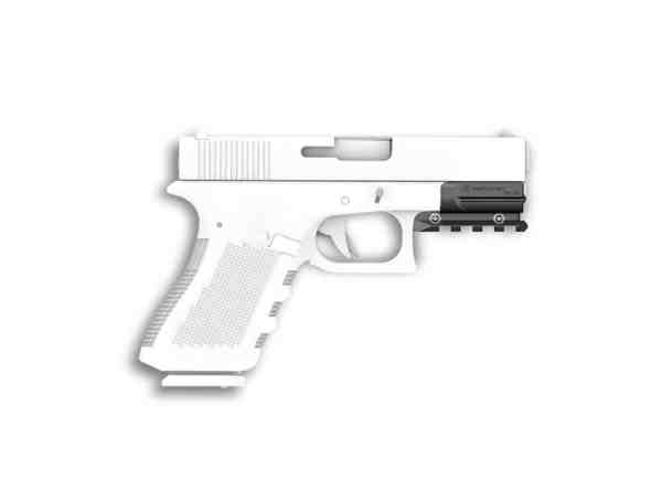 Recover Tactical - Glock 19/17 Gen 3-5 Picatinny Over Rail