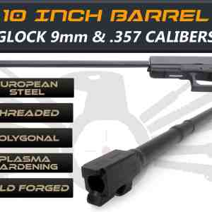 "Glock 41 .357Sig caliber -10"" Threaded Barrel"