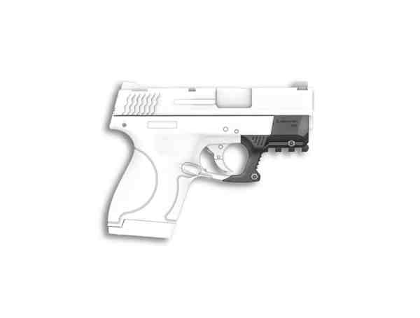Recover Tactical - M&P Shield Smith & Wesson Compact Picatinny Rail