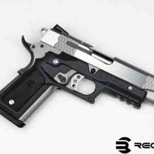 Recover Tactical - CC3P BLACK FRAME W/ BLACK AND TAN PANELS 1911 GRIP AND RAIL SYSTEM