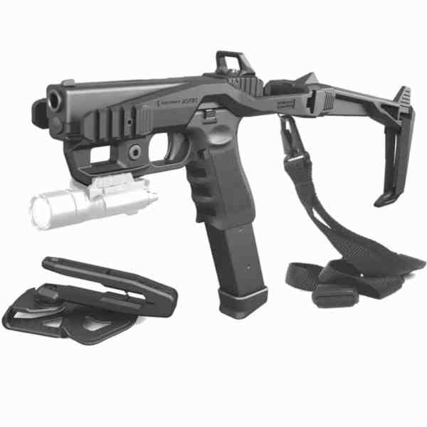 000BS - 20/20 Stabilizer Conversion Kit For Glock - with Holster + Sling