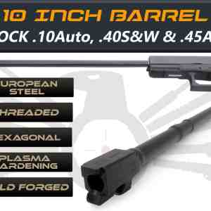 "Glock 21 .45acp caliber -10"" Threaded Barrel"