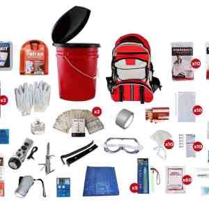 10 Person Survival Kit (72+ Hours) must have