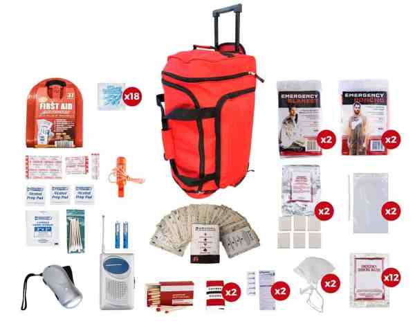 red wheel bug out bag for 2