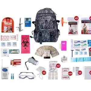 2 Person Deluxe Survival Kit readywise