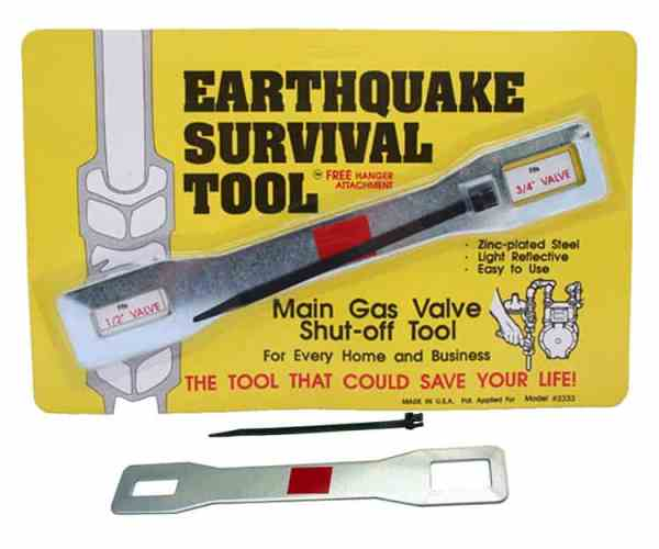 Gas Shut Off Tool