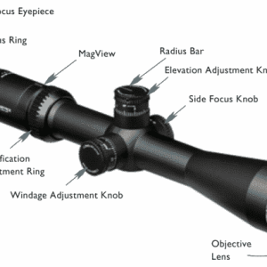 VHS-4310 Vortex Optics VIPER® HST™ 6-24x50 Riflescope With VMR-1 Reticle (MRAD)