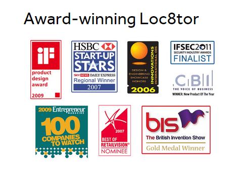 award winning loc8tor