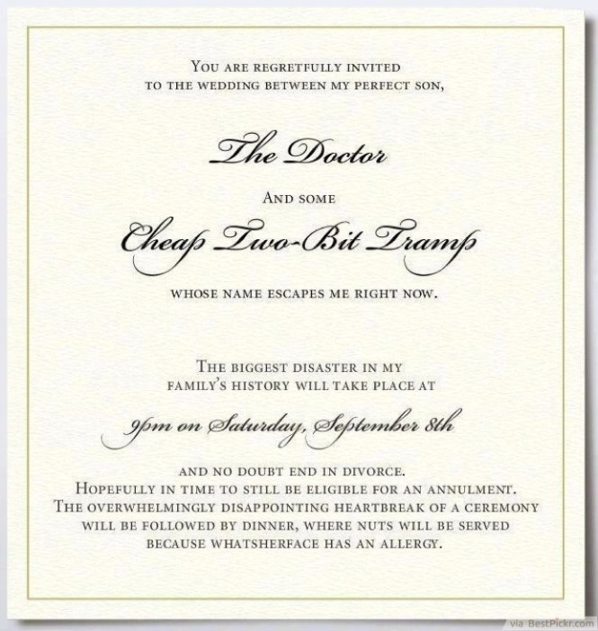 Informal Wedding Invitation Wordings And The Story Begins