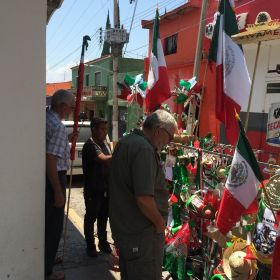 Shopping for cohetes firecrackers in Mexico