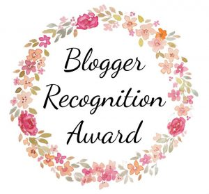 Award for a blogger