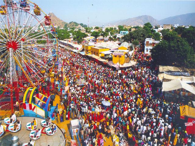 pushkar fair, Rajasthan