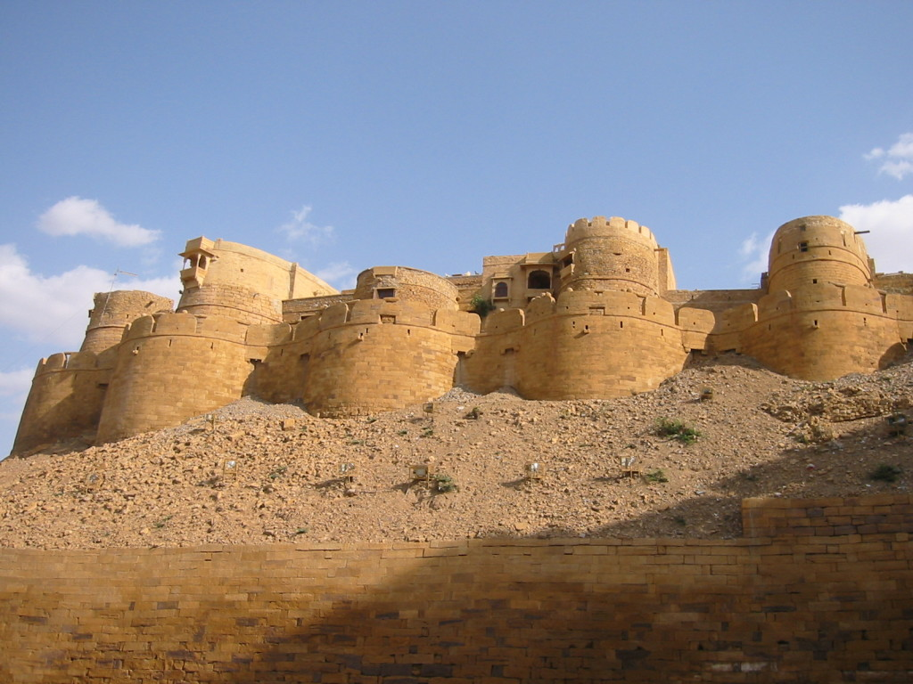 Jaisalmer Fort, Rajputs, Rajasthan (Image courtesy-commons.wikimedia.org)