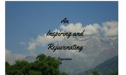 An inspiring and rejuvenating experience