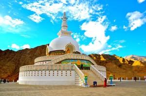 Shanti Stupa,Leh,Ladakh, Solo traveller