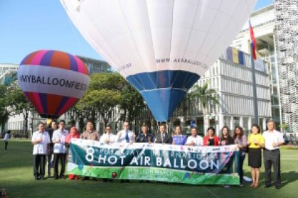The Putrajaya International Hot Air Balloon Fiesta will return from March 11-13. Pic courtesy of MyBalloonFiesta, February 20, 2016.