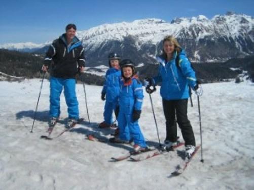 #travelblogger Paul Johnson and family