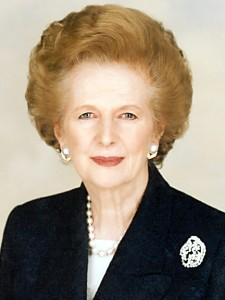 Margaret Thatcher-International Women's Day
